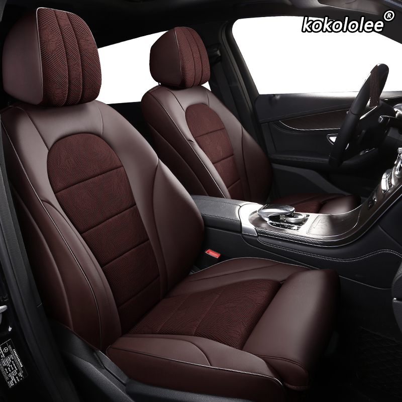 Kokololee Cloth Car Seat Covers For Honda Elysion Odyssey SHUTTLE FITSHUTTLE INSPIRE UR-V Greiz GIENIA Make Custom Automobiles(China)