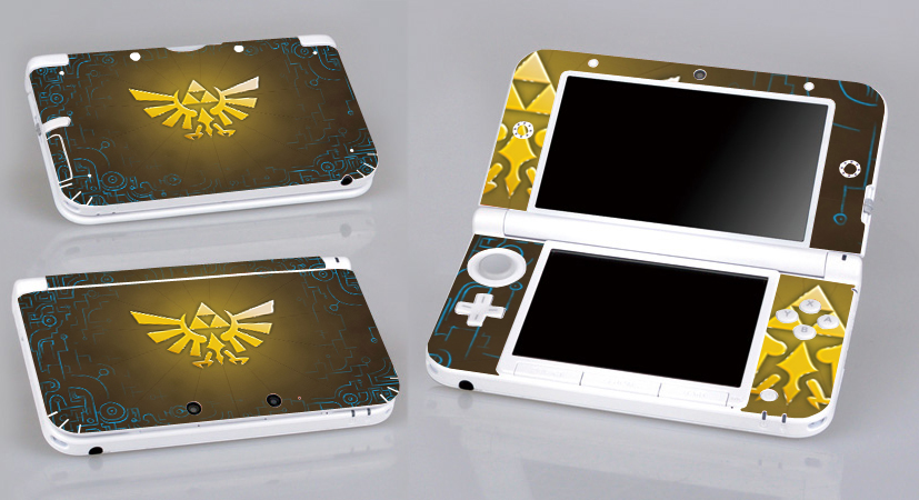 Video Game Accessories Faceplates, Decals & Stickers Zelda 255 Vinyl Decal Cover Skin Sticker For Xbox360 Slim And 2 Controller Skins