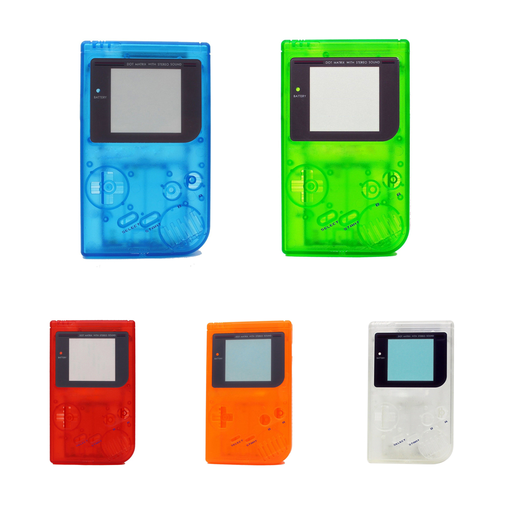 100PCS For Nintendo Gameboy classic gaming Console housing case Game Plastic Shell Cover for GB shell Replacement 5 colors