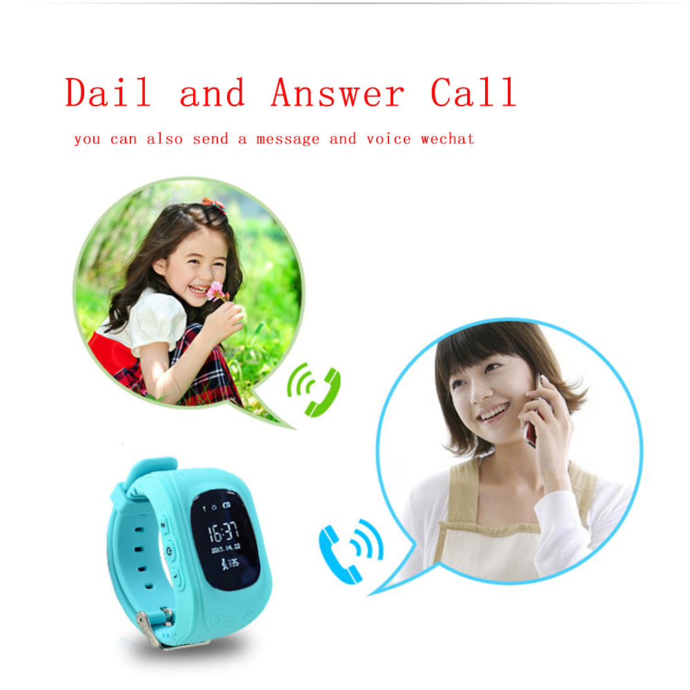 lemfo q50 kids smartwatch with sos call location finder and anti lost technology