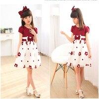 2018 Summer Baby Girls Dress New Korean Girl Niuniu Dress Child Girl Fashion Princess Dress For
