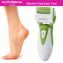 Green waterproof pedicure electric tools Foot Care  Exfoliating Foot Care Tool 1pcs roller pedicure heads For scholls KIMISKY