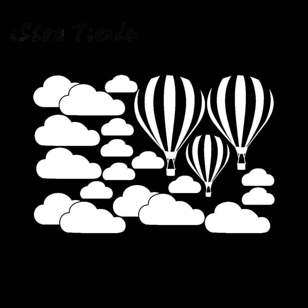 2019New FashionRomantic DIY Grandes Nuvens Balão Adesivos de Parede Quarto das Crianças Decoração da Casa da Arte Para Decoração de Casa Venda Quente #35