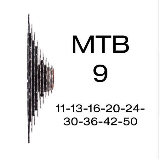 Mountainbike 9 Speed Cassette 11-50 T Breed Verhouding MTB Fiets 9 S Freewheel Compatibel met Cheap For shimano M430 M4000 M590 недорго, оригинальная цена