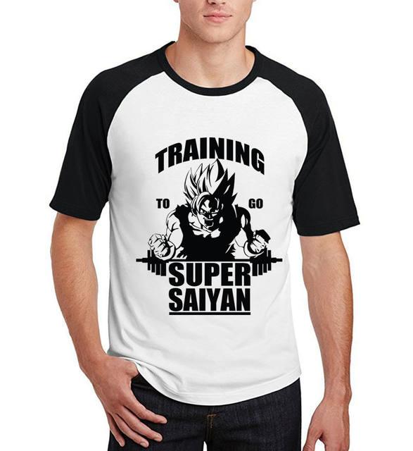 Dragon Ball Z Training Super Saiyan Tshirt (5 colors)