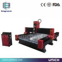 Beste service zware 1300*2500mm steenhouwen cnc-bewerkingsmachines