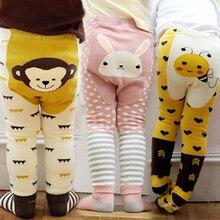 Kacakid fall new kid pants cute cartoon big PP + socks two pieces of cotton Leggings