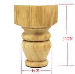 4 шт./лот 12x6 см Кабинета резиновые древесины футы диван Мебель ножки стола стопы