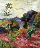 paintings of Paul Gauguin Martinique Landscape artwork Landscape art High quality Hand painted