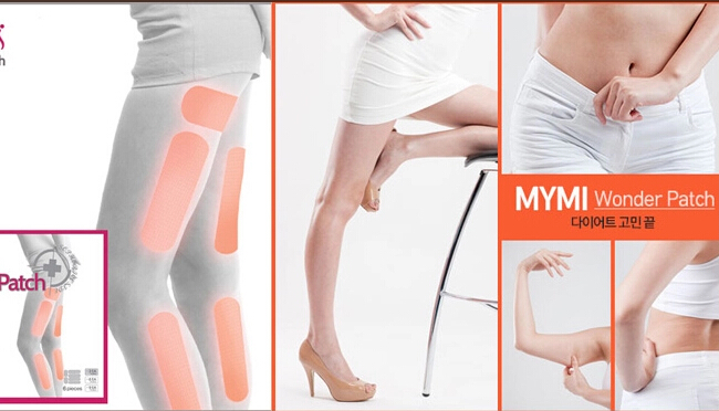 18pcs/box MYMIwonder patch lower body treatment patch as slimming leg arm lose weight fat burning paster for body beauty shaping