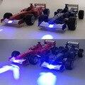 1:24 F1 Formula Racing Mini Liga Modelo Carros De Brinquedo de Metal Puxar Meninos Dos Miúdos Das Crianças Presentes Brinquedos de Simulação de Som Do Carro Luz traseira Em caixa