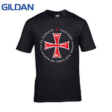 1f4447374 Anime Style Swag Live Nice - Knights Templar - funny t shirt Print cotton  simple tshirt Fitness top tees men t-shirt fitness