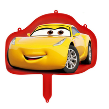 Mini Cartoon Racing Foil Balloons Party Decoration