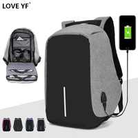 Brand backpack Anti-theft Backpack Bag 15.6 Inch Laptop Notebook Mochila Male Waterproof Back Pack Backbag School Backpack