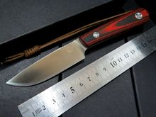 Bolte KYDEX Sheath tactical camping hunting diving knife D2 steel blade Red G10 handle +absolute high quality+SSS+++
