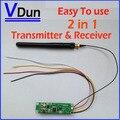 Frete grátis 1 pcs DMX 512 Controlador 2 em 1 Transmissor Sem Fio & Receptor Módulo PCB Para Iluminação de Palco DMX, DMX512-PCB
