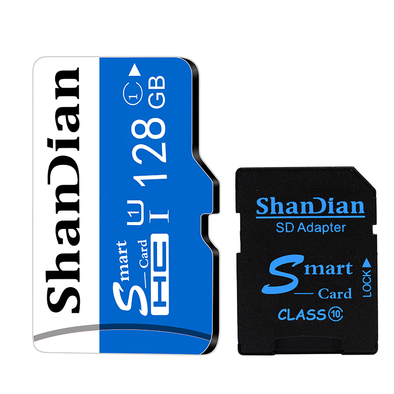 ShanDian SD Memory Card Real Capacity 4GB 8GB 16GB 32GB Red Microsd TF Memory Card Flash Drive Memory Stick 2015 Newest