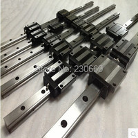 High Precision Low Manufacturer Price 1pc HGR20 Length 1400mm Linear Guide Rail Linear Guideway for CNC Machiner