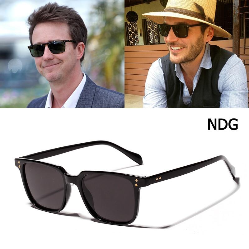 Jackjad óculos de sol quadrado, óculos de sol na moda, quadrado, com rebites, dois pontos, vintage 2020 3246