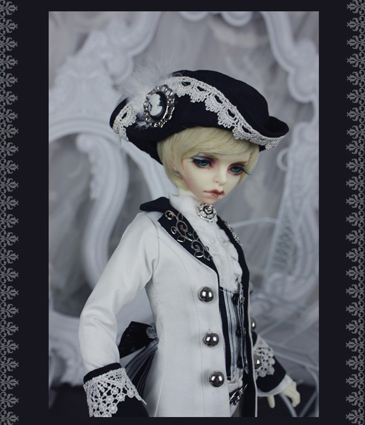 Viscount  MSD 1 of 4 Doll Set for BJD MSD KDF,DIM,IP JID Boy,FL 1 Of 4 Boy,FL 1 Of 4 Girl,IP JID Girl Doll Clothes LF56 casual leather jacket coat for bjd doll 1 6 1 4 msd 1 3 uncle ip soom doll clothes cw52