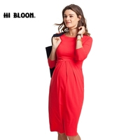 Maternity Clothes Formal Dresses Elegant Evening Party Dress For Pregnancy Women Fashion Gown Office Loose Lady Vestidos