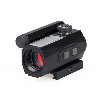 Canis Latrans  Tactical 1X20 Solar And Battery Two Charging Mode 2MOA Red Dot Scope For Outdoor Hunting OS2-0104