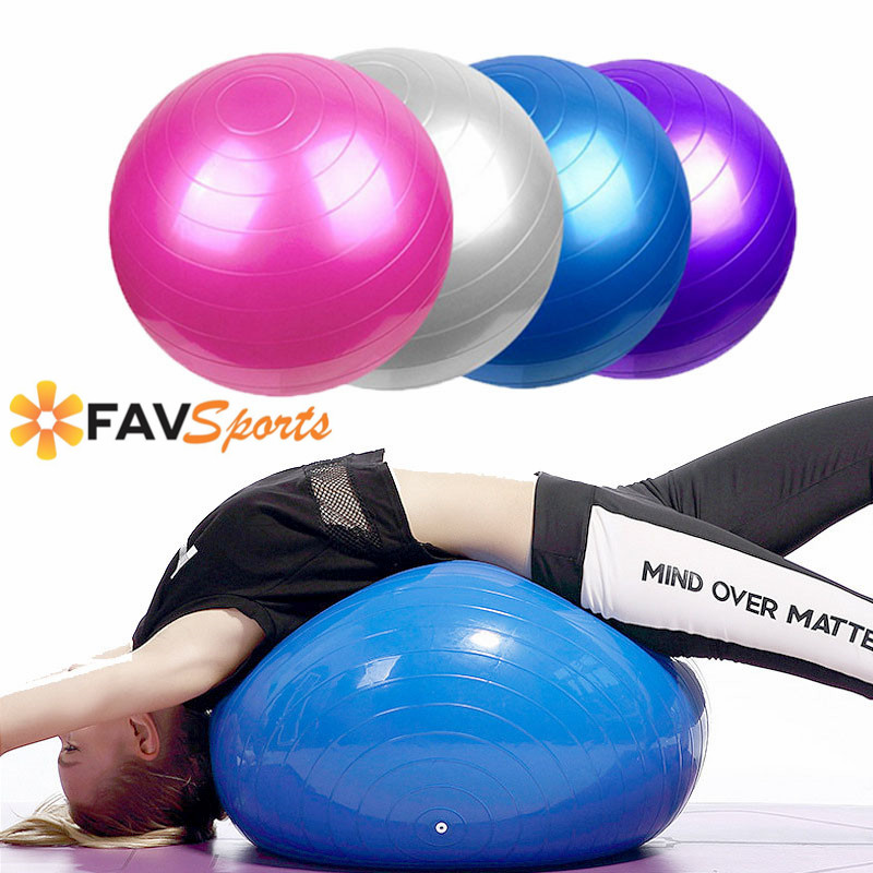 Frank 65cm Sports Yoga Ball Fitness Gym Balance Fitball Workout Pilates Massage Ball With Pump Fitness Equipment Relieving Rheumatism
