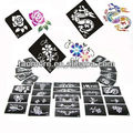Glitter Tattoo Stencil Design For Body Art Painting 100pcs for glitter tattoo kits supplies Free Shipping from USA warehouse