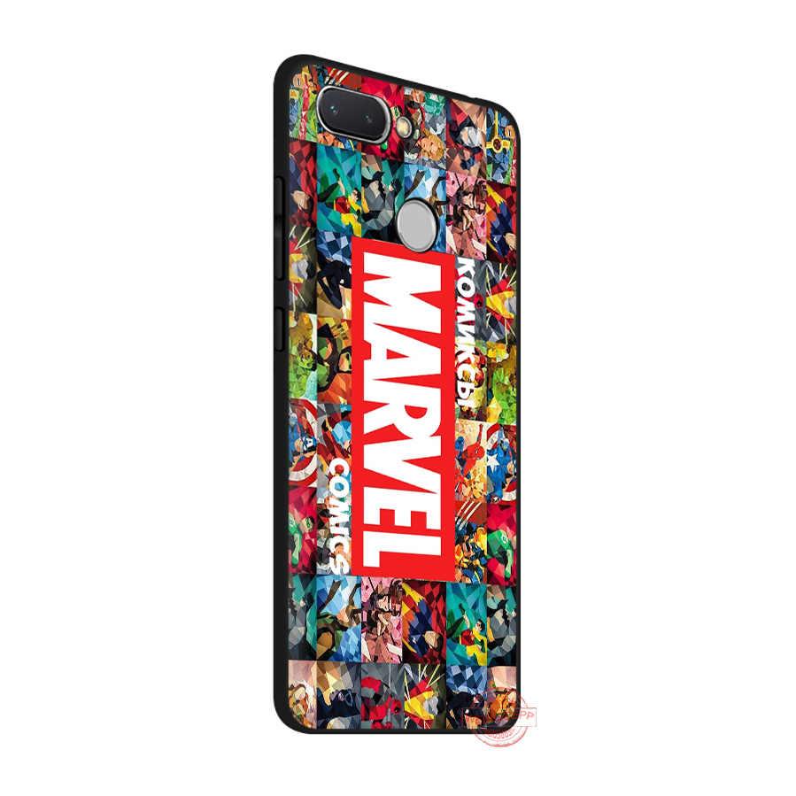 "WEBBEDEPP Марвел Супергерои из ""Мстителей"" мягкий чехол для телефона для Redmi Note 8 iPhone 7 6 Plus 5 iPad Pro 4A 5A 6A 4X5 плюс S2 Go чехлы"
