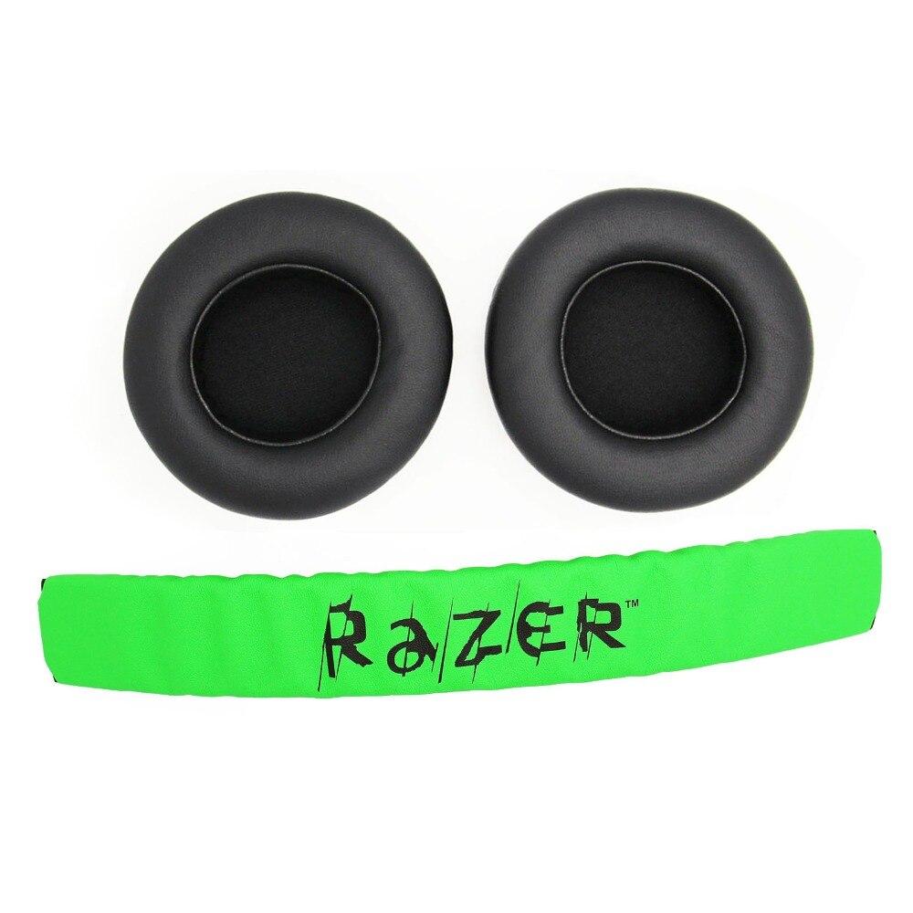 Ersatz Stirnband Kissen Pad & Ohrpolster Kissen Abdeckung Für Razer Kraken 7,1 Pro Gaming Kopfhörer Headsets