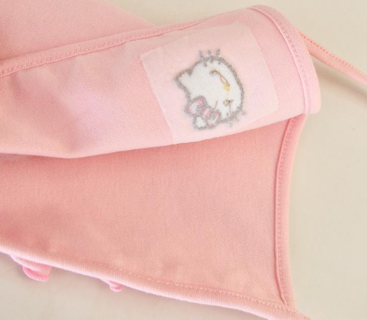 HTB1jwZWJFXXXXb7XXXXq6xXFXXXb - 2 Pcs Newborn Girl Organic Cotton Hello Kitty Romper Set Baby Cute Pink Jumpsuit with Hat New Born Ruffled Collar Bowknot Outfit
