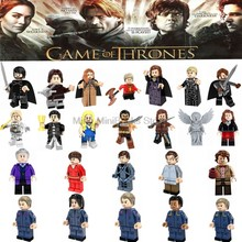 Game Of Thrones Figure Snow Khai Drago Daenerys White Walker Jaime Ice And Fire Doctor Who Building Blocks Toys For Children(China)