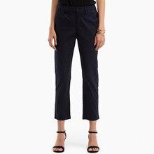 2018 Primavera Verano otoño mujeres Casual pantalones largos botón Casual pantalones elegantes Oficina de Trabajo pantalones Pantalon Mujer más Szie 5XL
