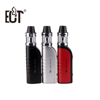 2017 Newest ECT B40+ kit e cigarette 40w box mod vape mod met atomizer 2.0 ml vaporizer electronic cigarette starter kits