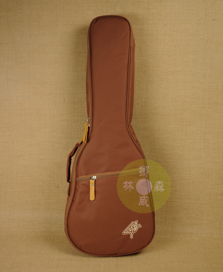 Thick Waterproof Soprano Concert Tenor Ukulele Bag Case Backpack 21 23 26 Inch Ukelele Beige Mini Guitar Accessories Browm Gig
