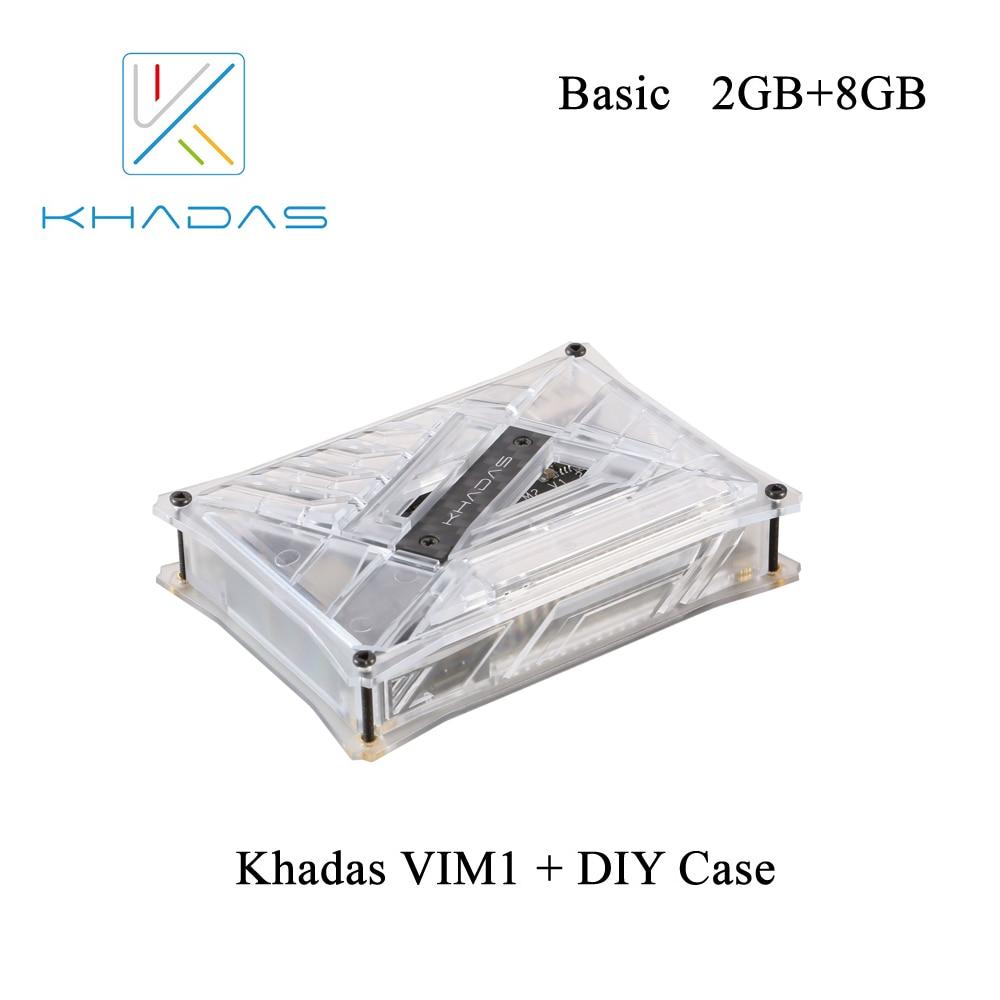 Khadas VIM1 Basic Quad Core ARM Development Board with Amlogic S905X Open Source DDR3 2GB 8GB