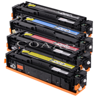 Compatível 131X 131A CF210X CF210A CF211A CF212A CF213A Cartucho de Toner para HP LaserJet Pro 200 a cores M251nw M276n/nw|Cartuchos de toner| |  -