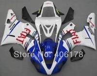 Горячие продаж, Дешевые yzf1000 R1 комплект для Yamaha Yzf R1 2000 2001 гонки мотоцикл FIAT обтекатели ( термопластавтоматы )