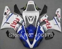 Лидер продаж, дешевые YZF1000 R1 комплект для Yamaha Yzf R1 2000 2001 гоночный мотоцикл FIAT Обтекатели (литья под давлением)