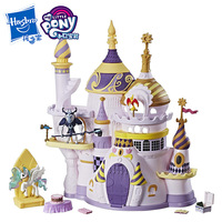 Hasbro Action Toy Figures My Little Pony Toys Treasures Collections Canterlot Castle Cosmic Princess Girl House Toys gift