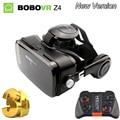 Óculos de realidade virtual óculos 3d originais bobovr z4 mini bobo caixa google papelão vr vr 2.0 óculos para 4.0-6.0 polegada telefones