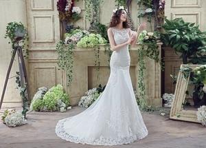 Image 5 - 100% реальные изображения Свадебное Платье женское свадебное платье 2020 женское платье
