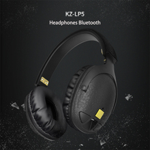 100 Original KZ LP5 Wireless Bluetooth Earphone Apt X Wired stereo Bass HIFI DJ High qualit