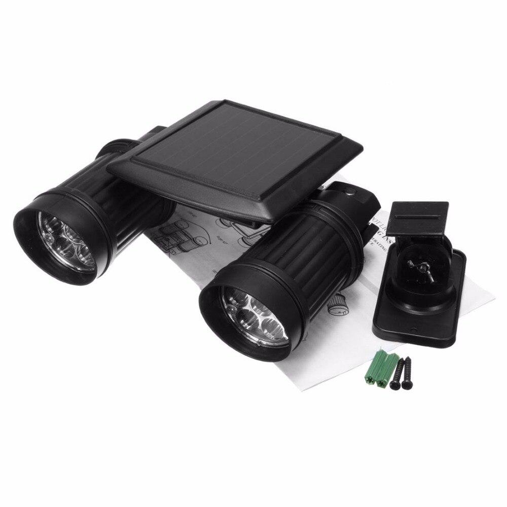 Dual Head Super Bright 14 Led Waterproof Motion Sensor