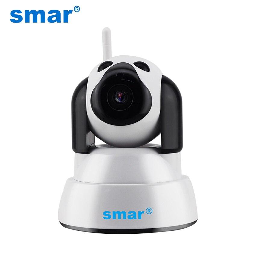Smar nouveau 720 P WIFI IP caméra sécurité à domicile sans fil intelligent chien Wi-Fi caméra de vidéosurveillance Mini intérieur bébé moniteur infrarouge Vision nocturne