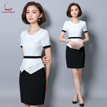New professional suit dress front desk manager medical beauty consultant work clothes white-collar clothing