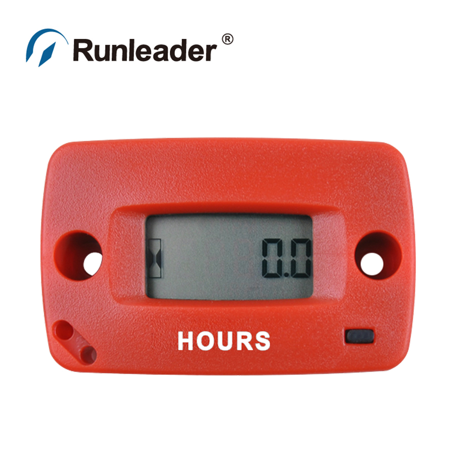 Runleader HM018 Waterproof HOUR METER Maintenance Timer for Pit Bike Jet Ski boat Go Kart Marine Motorcycle chainsaw ATV