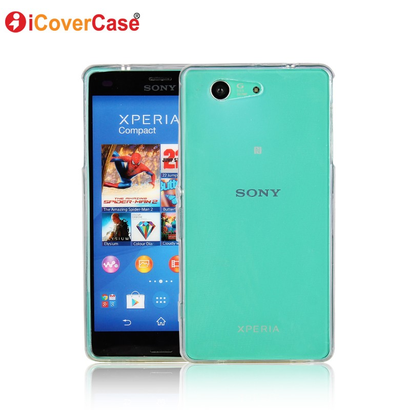 coque for sony xperia z3 compact case silicone back cover for sony