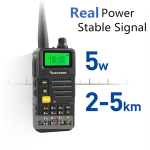 Image 3 - Ham Radio for Hunting UV R50 2 Quansheng 5W Dual Band VHF UHF 136 174Mhz/400 520Mhz Walkie Talkie UV R50( 1) Baofeng UV 82 UV 5R