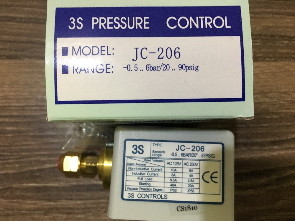 3s pressure switch single electro controller jc-206 3s pressure switch single electro controller hns 220 page 8